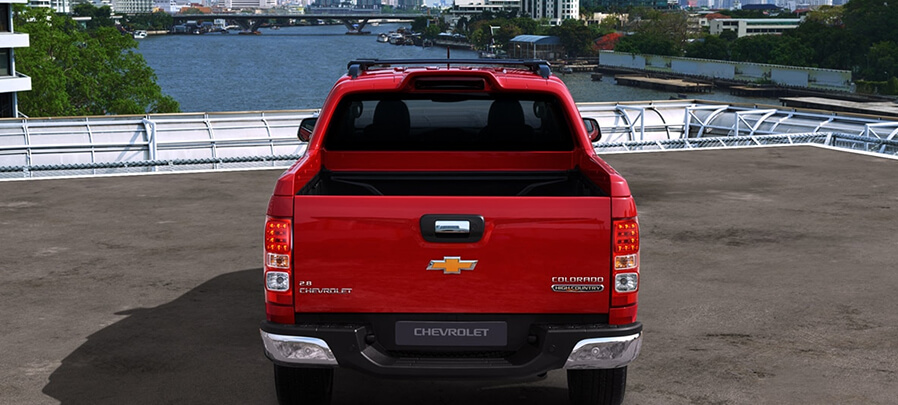 Tampilan Belakang Chevrolet Colorado