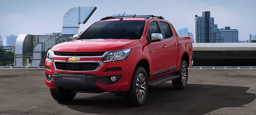Tampilan Depan Chevrolet Colorado