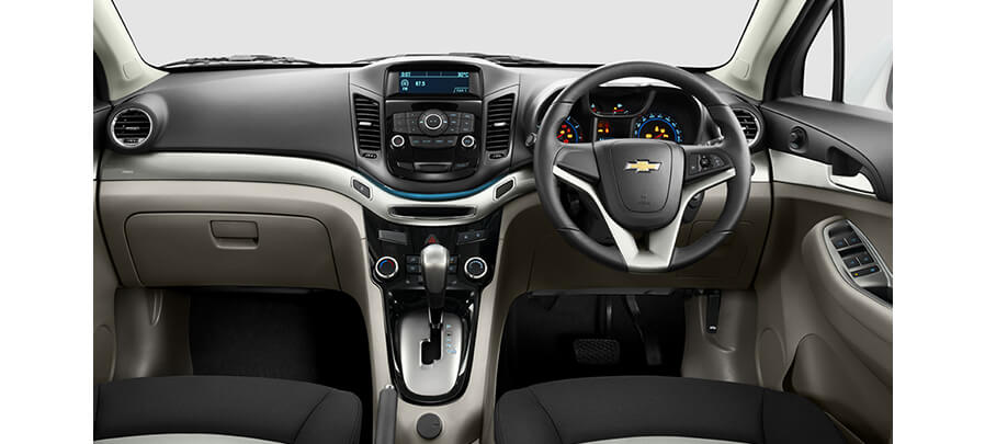 Dashboard  Chevrolet Orlando