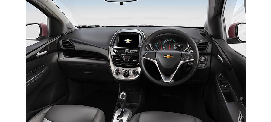 Tampilan Dashboard Chevrolet Spark