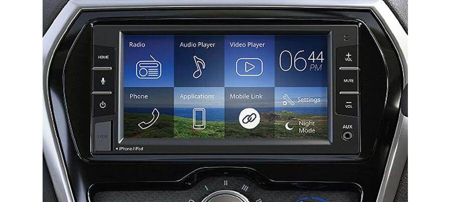 Layar Touch screen Cross